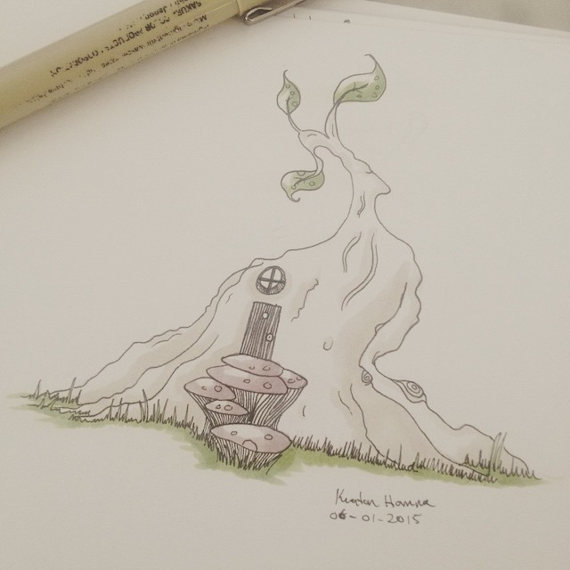 640x640 Image Result For Fairy House Drawing Copic Digitals