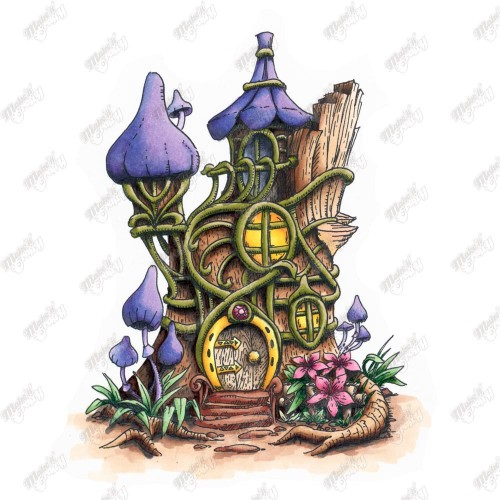 500x500 How To Make Fairy House For Outside