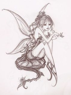236x314 Pencil Drawings Of Fairies Fairy Drawings In Pencil Pencil