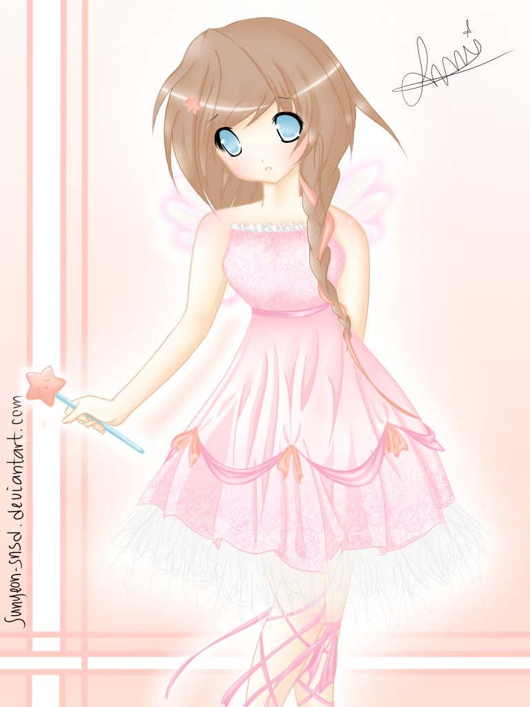 768x1024 Updated Fairy Princess Drawing By Sunyeon Snsd
