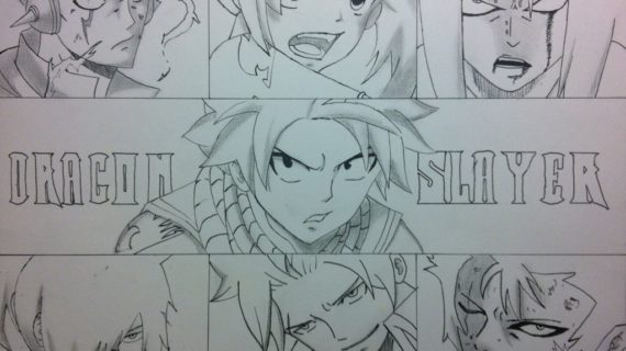 570x320 Fairy Tail Drawings Fairy Tail On Fairy Tail Characters