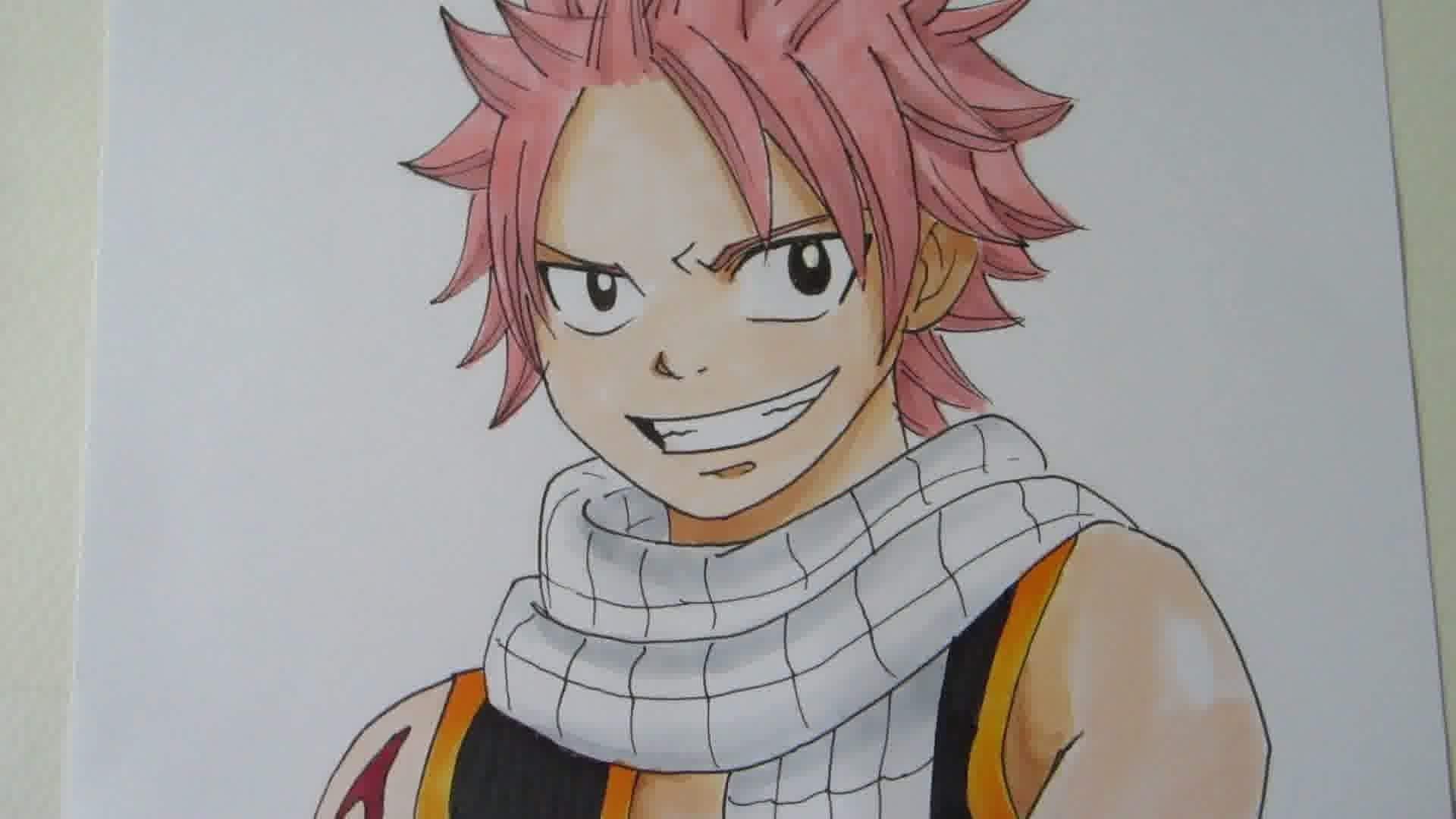 1920x1080 How To Draw Natsu Dragneel From Fairy Tail