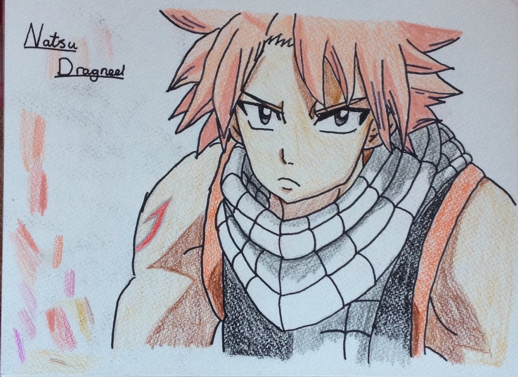1024x746 My Drawing Of Natsu From Fairy Tail By Fairy Tail Lover 4