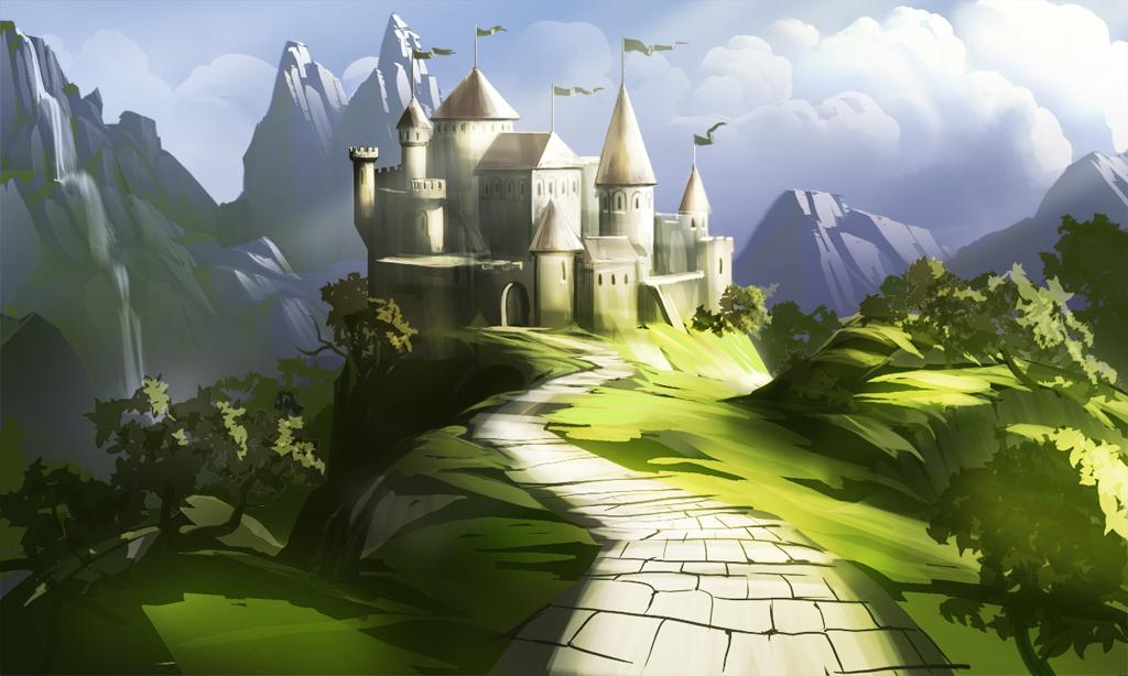 1024x614 fairy tale castle by APetruk on