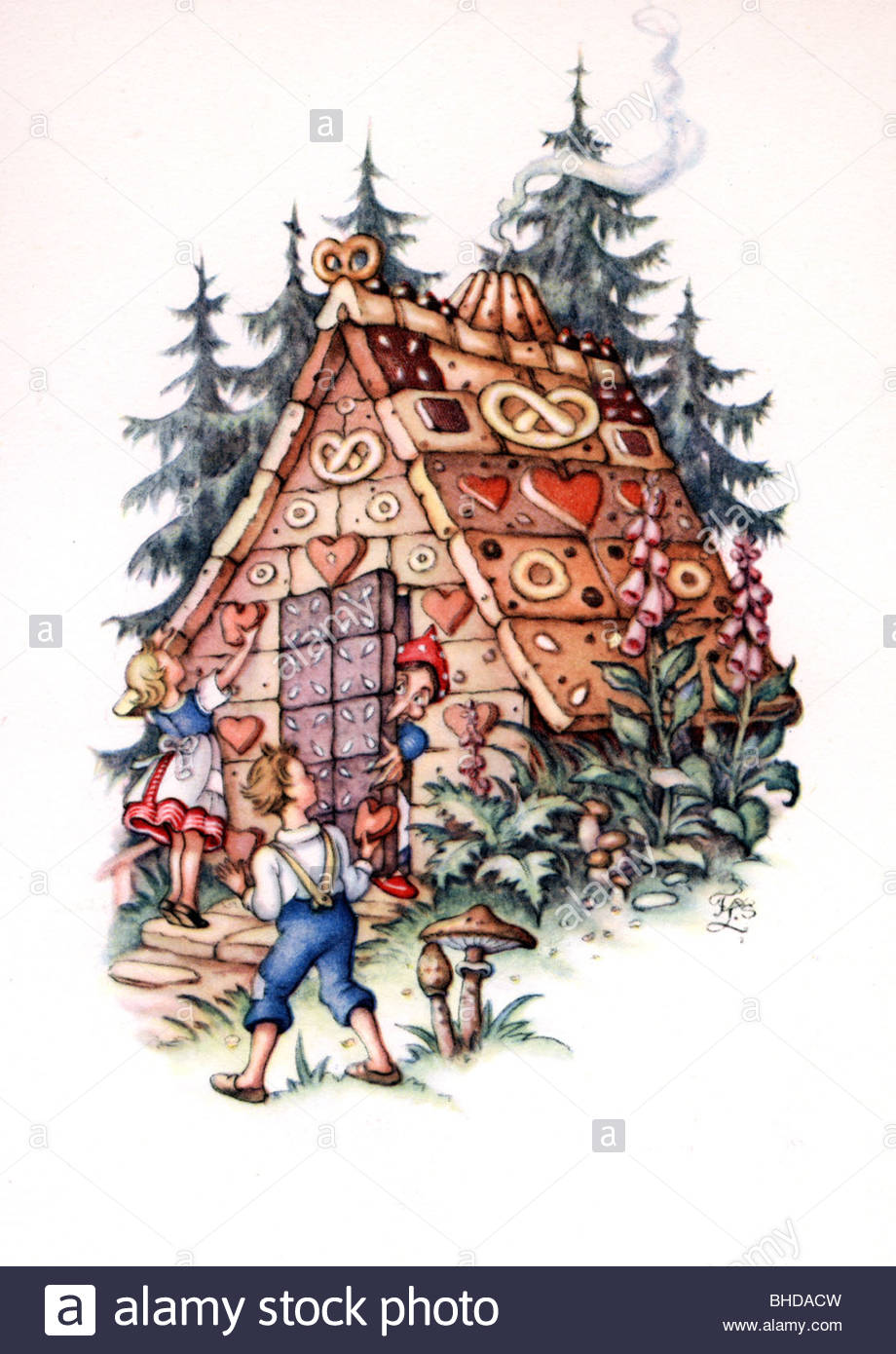 920x1390 Literature, Fairy Tales, Hansel And Gretel, Brothers Grimm, Colour