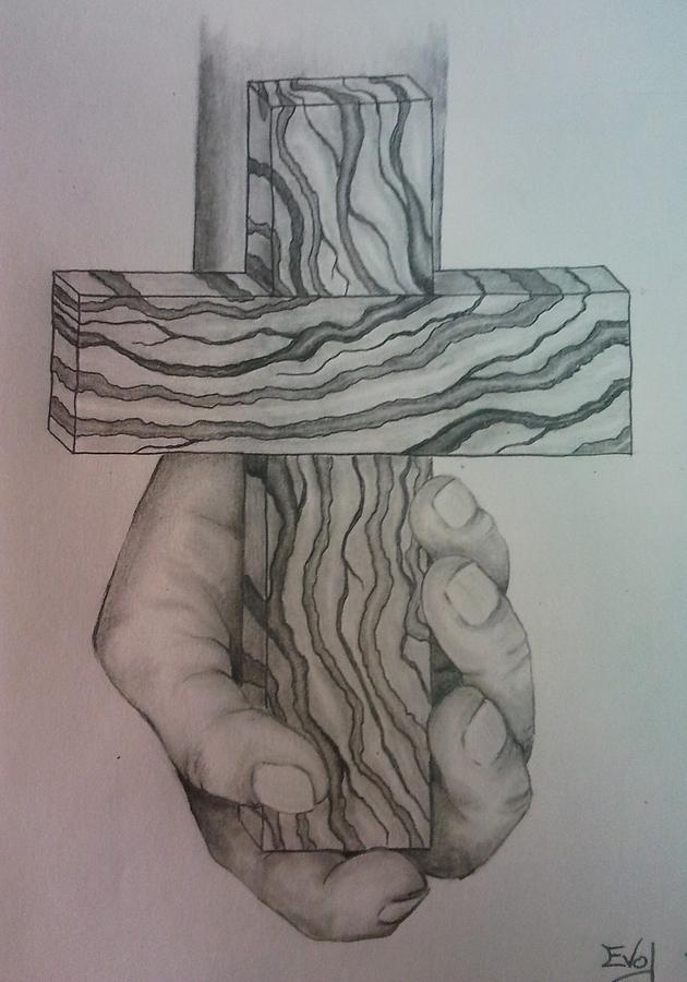 630x900 Faith Drawing By Daniel Mccormick