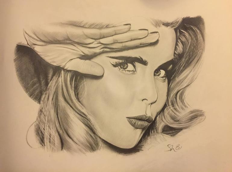 770x572 Saatchi Art Paloma Faith Drawing By Stephen Harris