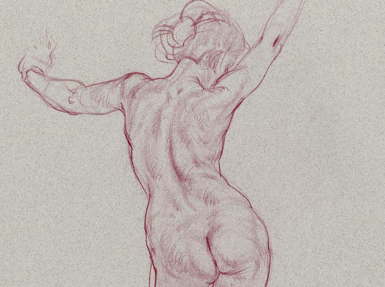 1258x938 Dynamic Figure Drawing With Glenn Vilppu, Fall Term Art