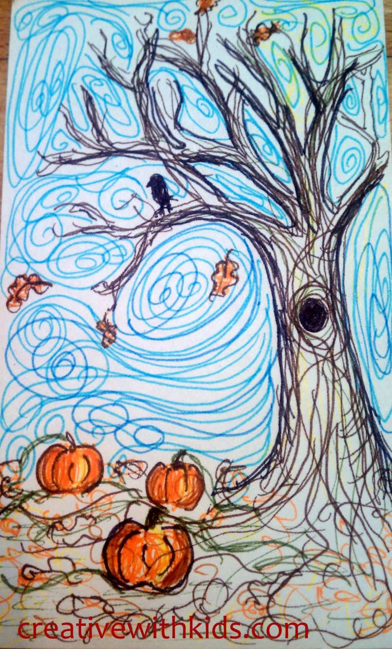 805x1333 Photos Fall Drawing Ideas,