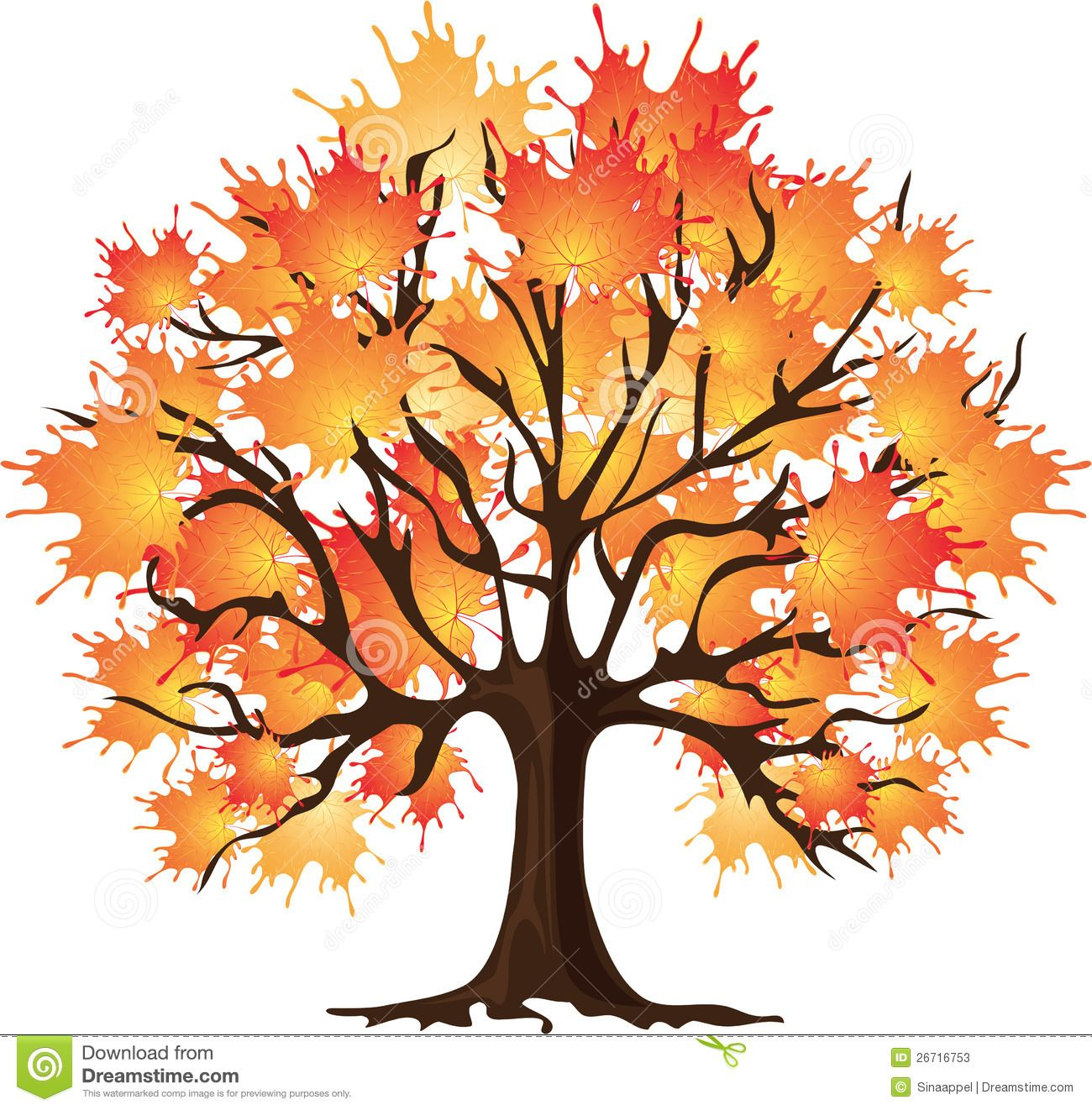 1300x1322 Fall Clip Art Free Animated Fall Tree Clip Art Art Autumn Tree