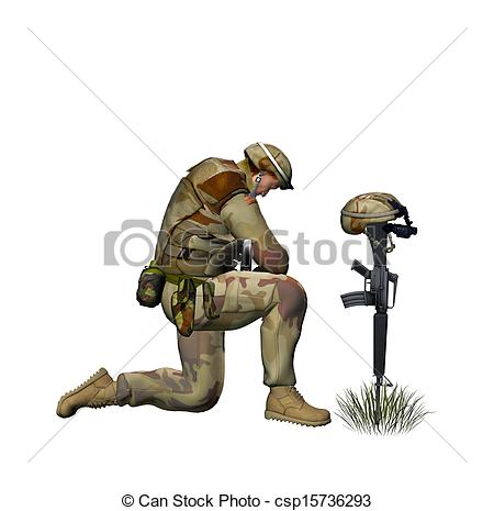 450x465 Fallen Soldier Drawing Soldier Praying For A Fallen Patterns