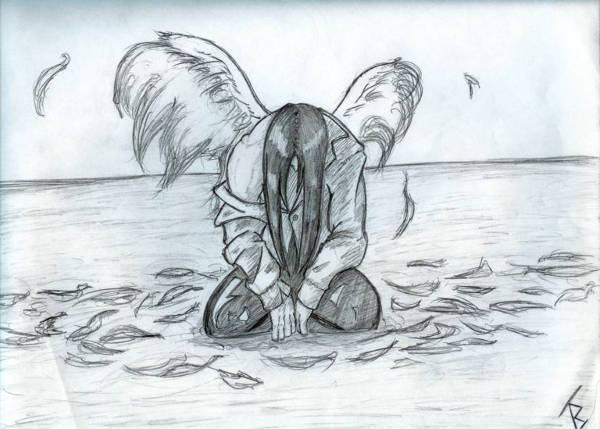 Falling angel drawing at getdrawings free for personal use 600x429 10 angel drawings thecheapjerseys Choice Image