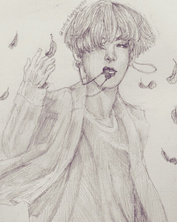 576x720 Dancing Under The Falling Feathers Kpop Fanart Amino