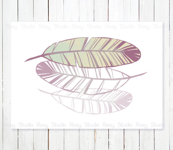 570x494 Falling Feathers Print Feathers Drawing Nature By Lanakat On Etsy