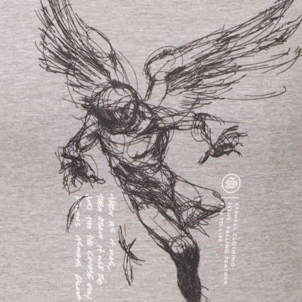 600x600 Strhess Clothing Falling Feather T Shirt