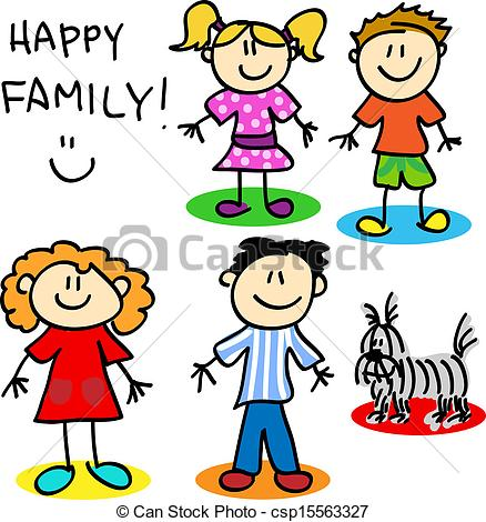 family cartoon drawing at getdrawings com free for personal use