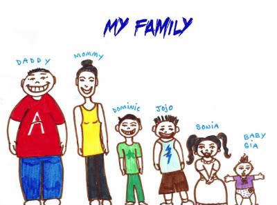 400x297 Katholic Family Drawing