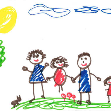 380x380 What Kids' Drawings Reveal About Their Homes