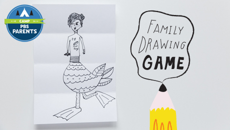 460x260 Family Drawing Game