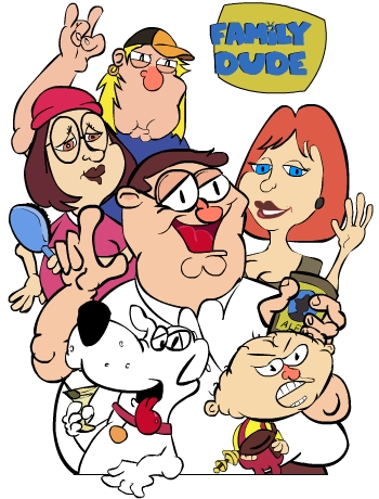 350x460 Family Guy Drawing By Jhbmw007