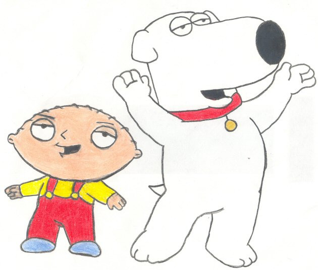 630x536 Stewie And Brian By Candycane755