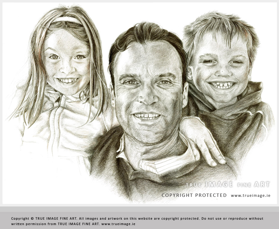928x762 Family Portraits In Pencil By True Image Fine Art