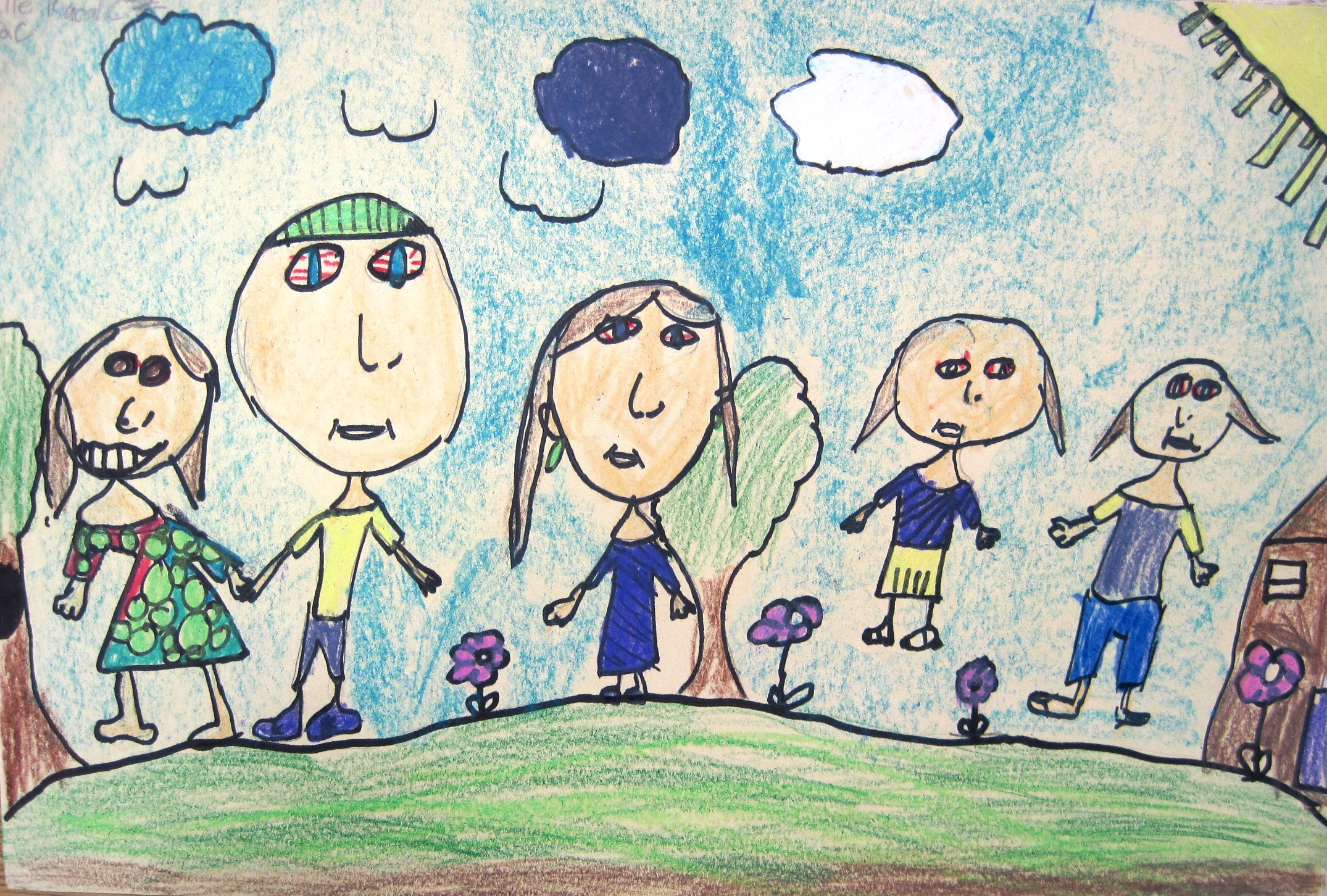 family portraits drawing at getdrawings com free for personal use