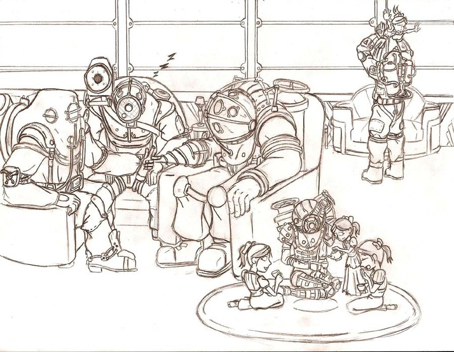 900x698 Family Reunion Sketch By Evill33tchaos