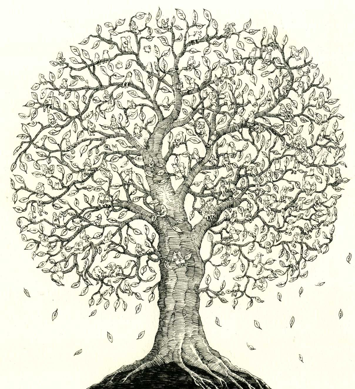 Family Tree Drawing at GetDrawings.com | Free for personal use ...