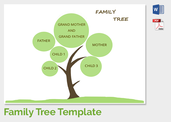 Family Tree Drawing Easy At Getdrawings Free For Personal Use