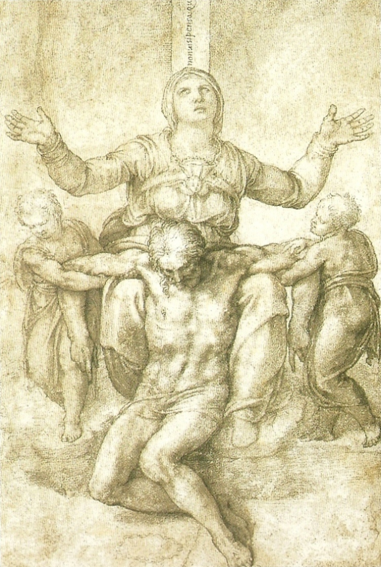 751x1116 Michelangelo's Drawings Burned About Famous Artists