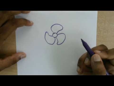 480x360 How To Draw Table Fan Easy Drawing For Kids Learn To Draw Step
