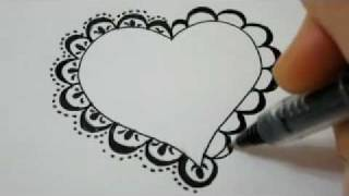 320x180 How To Draw A Lace Heart