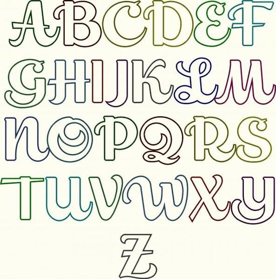 Fancy Letters Drawing At Getdrawings Com Free For Personal