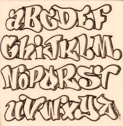 474x486 Letras De Graffiti
