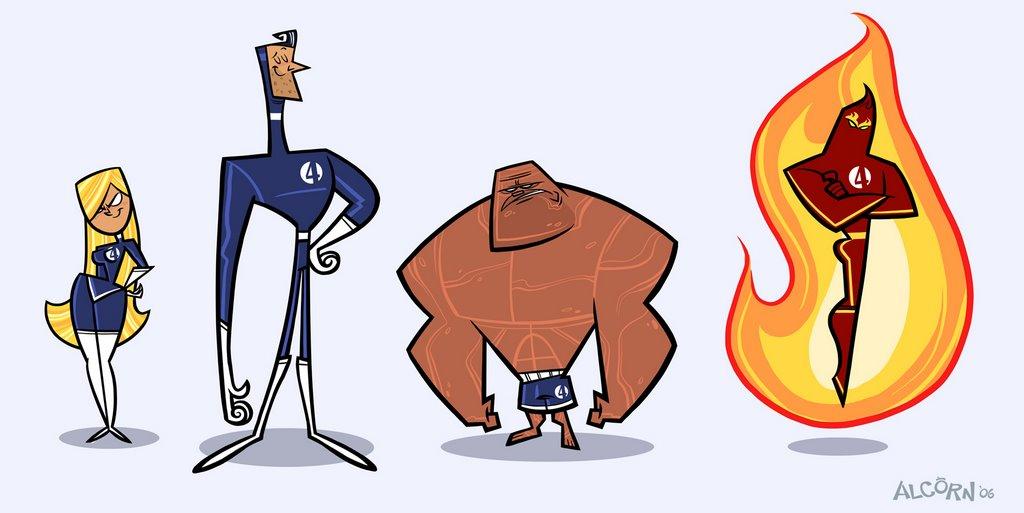 1024x513 Fantasy Four Cartoons Frederator Studios Blog 2006 October