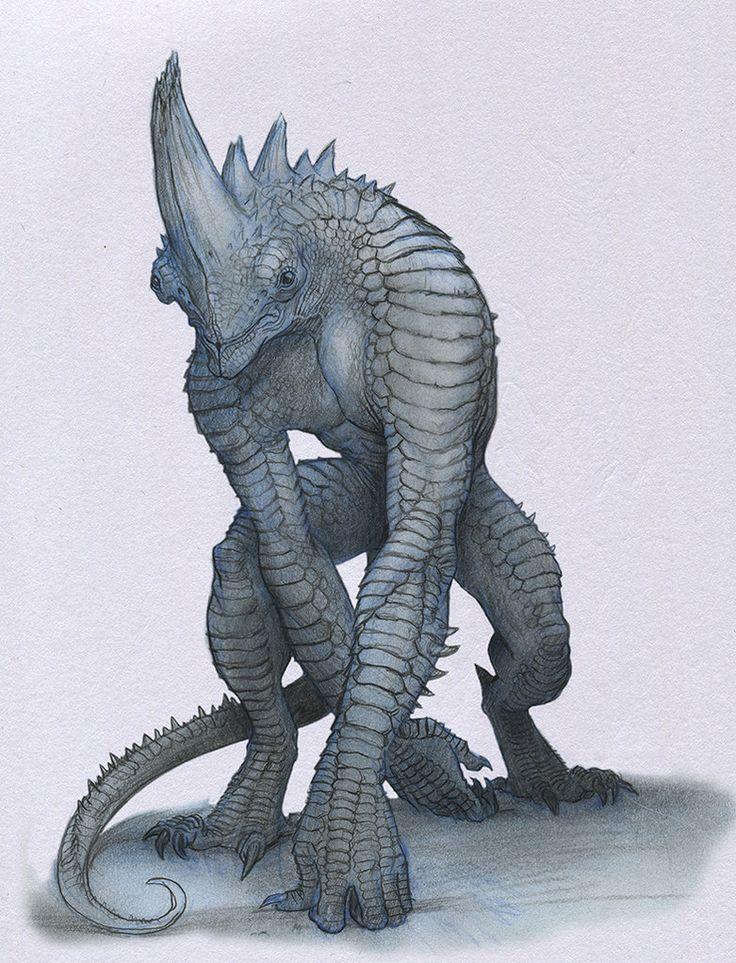 Fantasy Creatures Drawing at GetDrawings | Free download - photo#19