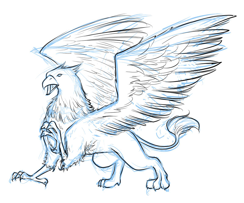 800x665 Drawn Creature Mythical Creature