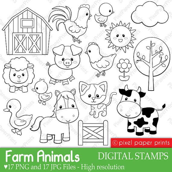 farm animals drawing at getdrawings com free for personal use farm