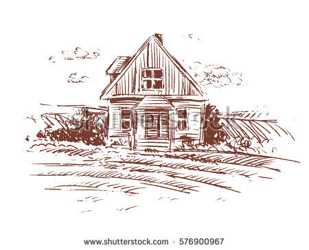 450x364 0 Farm House Drawing Best 25 Farmhouse Drawings And Illustrations