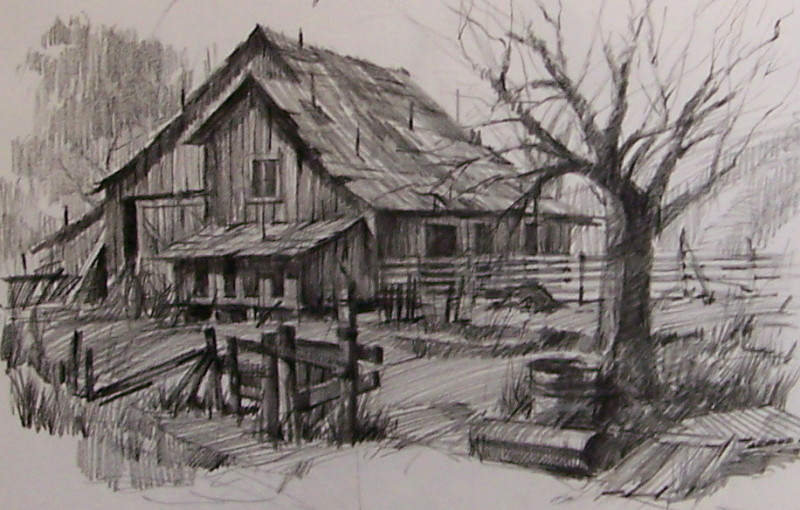 800x510 Drawings Of Old Farms