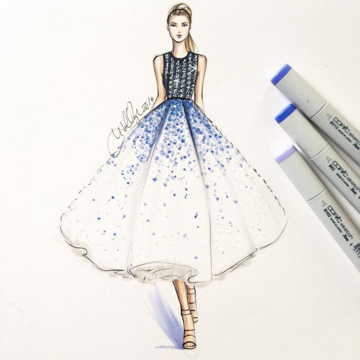 728x728 Clothes Design Drawings