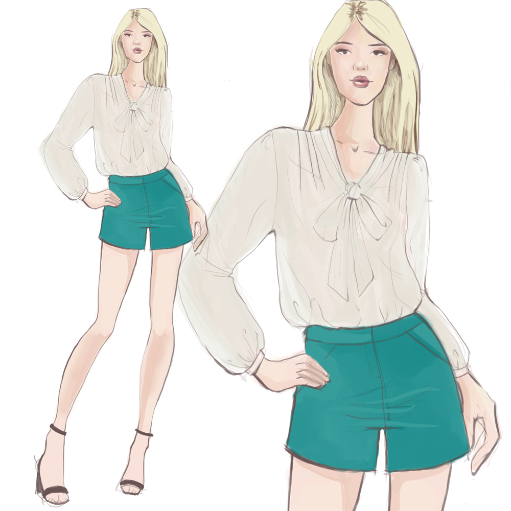 1000x1000 How To Draw Fashion Design Sketches