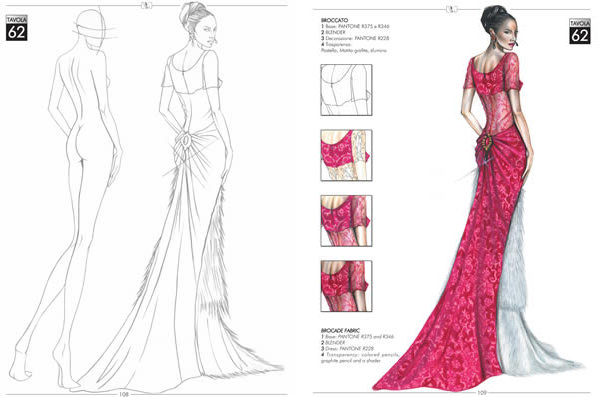 600x397 Fashion Designers Drawings Fashion Design Book The Fashion Drawing