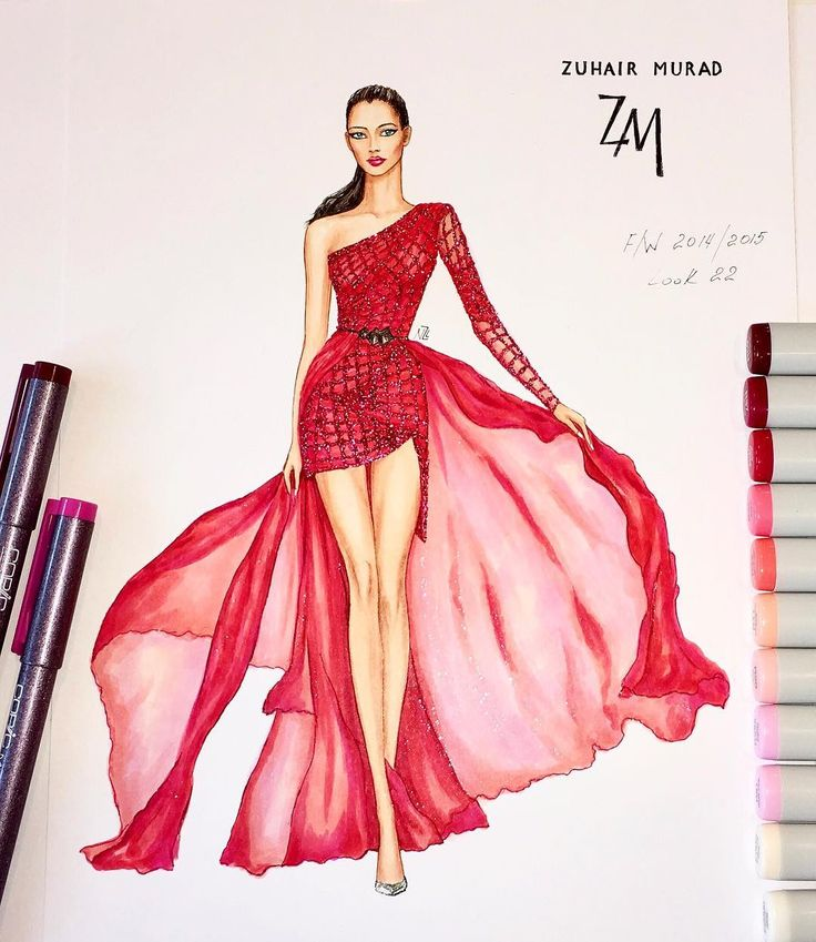 Fashion Dress Drawing at GetDrawings.com | Free for personal use ...