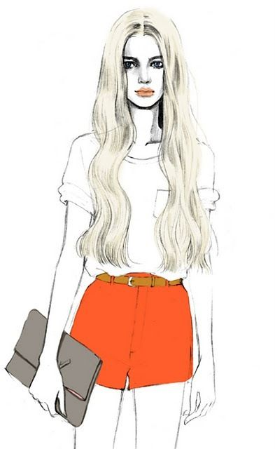 fashion girl drawing at getdrawings com free for personal use