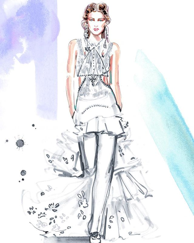 640x800 Contemporary Fashion Illustrators Taking Over The Runway