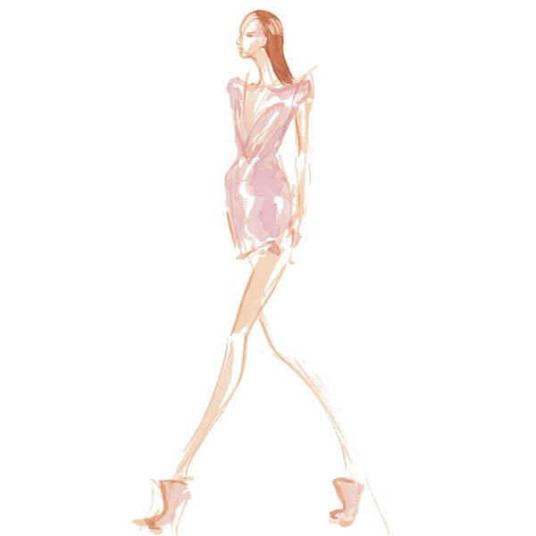 600x600 Paris Runway Sketch Amaya Arzuaga Final Fashion