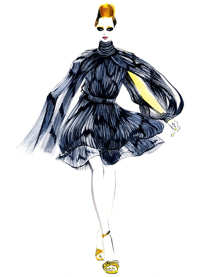 670x904 Pin By Virginia Parra On Fashion Illustration