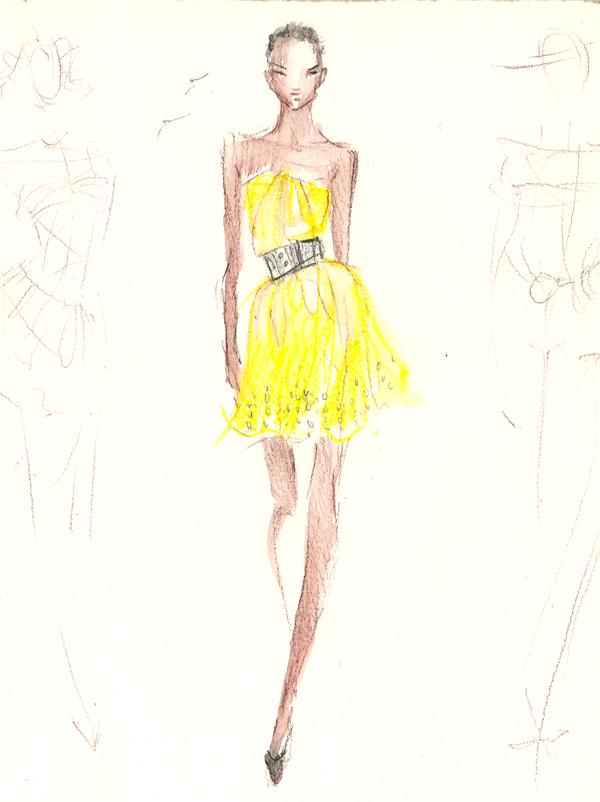 600x802 Drawing Lovas Ss11 Show Final Fashion